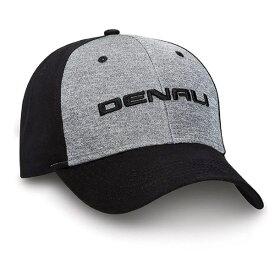【GMC デナリ】【帽子 キャップ】3Dロゴ入り ベースボールキャップ メンズ ブラックグレー【DENALI 野球帽】