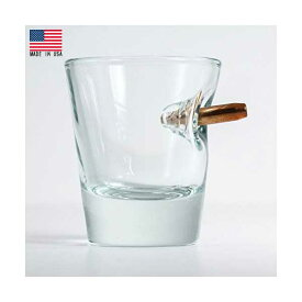 【ベンショット】Benshot リアルバレット ショットグラス 1.5oz(.308口径)Made in U.S.A【Ben shot バー bar キッチン雑貨】