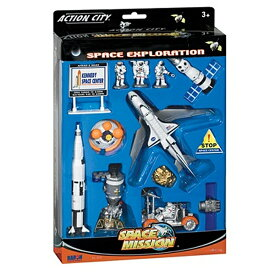 ダロン スペースアドベンチャー ケネディー宇宙センター 15ピース モデル セット ■ DARON NASA 宇宙 スペースシャトル 衛星 ロケット トイ おもちゃ 模型