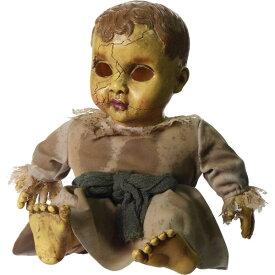 ホーンテッド ドール サウンド付き ■ ホラー インテリア ディスプレイ 霊が取り付く 人形 ハロウィン ハロウィーン