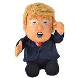 【フィギュア】ドナルド・トランプアメリカ大統領フィンガープッシュアクションドール【DonaldTrumpコレクショントイ雑貨USAアメリカ米国プレジデント喋る動く】