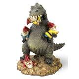 【ガーデンノーム】ノームマッサークルグノームゴジラ【Godzillaガーデニング人形インテリア置物雑貨怪獣庭】
