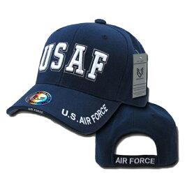 【ラピッド・ドミナンス】【帽子 キャップ】US エアフォース USAF 立体刺繍 ネイビー【AIR FORCE RAPID DOMINANCE アパレル メンズ ミリタリー 米軍 空軍】