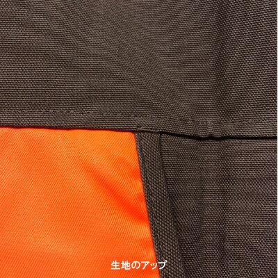 【ハンティングベスト】シェルホルダー付きベストMサイズダークブラウン&蛍光オレンジ【Gamehideメンズ狩猟弾薬】