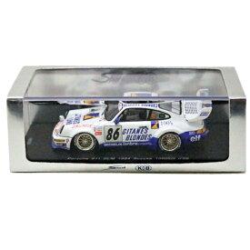 【ミニカー】【ポルシェ】1994 Porsche 911 SLM 鈴鹿1000km 耐久レース 1/43スケール【車 カー トイ おもちゃ 模型 SPARK】