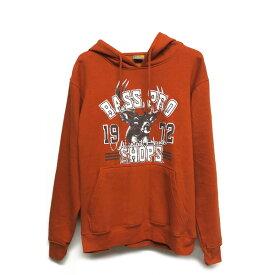 【バスプロショップス】BASS PRO SHOPS Whitetail hunter パーカー Sサイズ Mサイズ オレンジ【アパレル メンズ フリース】