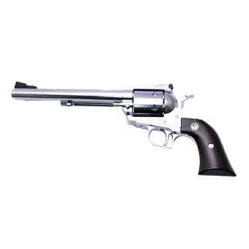 マルシン ガスガン スーパー ブラックホーク 7.5インチ 6mm仕様 Xカートリッジタイプ シルバーABS プラグリップ仕様 ■ Marushin BLACKHAWK ミリタリー リボルバー 銃 ガン