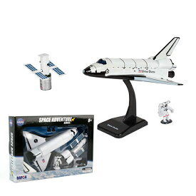 DARON ダロン スペースシャトル 人工衛星 宇宙飛行士 模型セット 組立式 スタンド付き【Space Shuttle NASA 宇宙 雑貨 トイ】