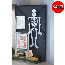 [SALE!] [ダルトン]TIN BONE ガイコツ 全身 壁掛けオブジェ スチール製 ■ ハロウィン ハロウィーン 骸骨 がいこつ スケルトン ドクロ インテリア ディスプレイ