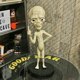 プロボック エイリアン オブジェ 置き台付き ■ インテリア 雑貨 店舗 ショップ SF UFO ALIEN 宇宙人 ハロウィン ハロウィーン