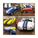 【KINSMART】【キンスマート】ダイキャスト Shelby Cobra 427 プルバック式 ミニカー 1965 1/32 【シェルビー】【コブラ】レッド ...