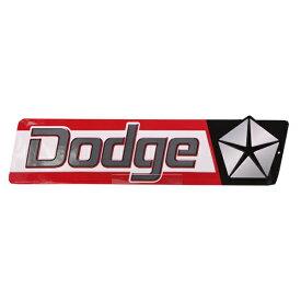 【ブリキ看板】ダッジ(Dodge) クライスラー エンボス(凹凸加工) ティンサイン【インテリア 壁掛け】