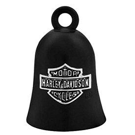 【再入荷】(バイク用品)ハーレーダビッドソン バー&シールド ロゴ バイク ライド ベル マットブラック【ガーディアンベル】【Harley-Davidson】