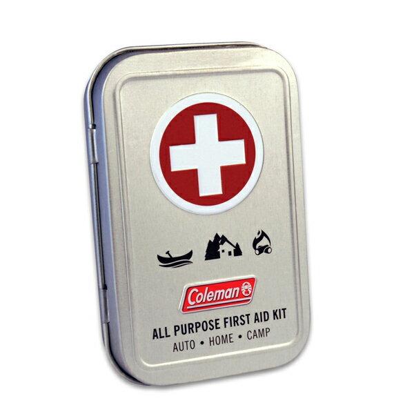 【再入荷】【Coleman (コールマン)】多目的コンパクト救急セット(ファーストエイドキット) 27ピース入り(7605)【応急処置 ミリタリー アウトドア サバイバル】