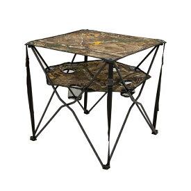 【送料無料】【Browning(ブローニング)】折り畳み式 アウトドアテーブル リアルツリー柄 専用収納袋付き 【アウトドア キャンプ 海水浴】