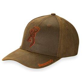 【帽子・キャップ】【ブローニング】メンズ Rhino(ライノ) ブラウン【Browning アウトドア ベルクロ ベースボール】【米国輸入品】