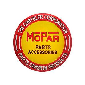 【MOPAR】 モパー ブリキ看板 約61cm×61cm (parts accessories)【インテリア 壁掛け 看板 クライスラー】