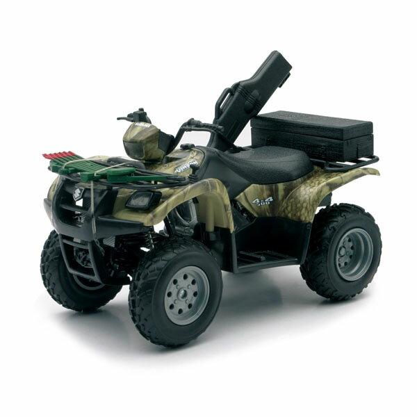 【在庫あり・即納】【NewRay】 SUZUKI(スズキ) 1/12スケール Vinson(ヴィンソン) AUTO 500 4x4 カモ ATV【インテリア トイ 四輪バギー】 【181SS10】