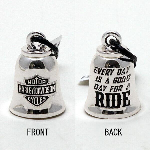 【再入荷】【Harley-Davidson】 ハーレーダビッドソン スターリングシルバー ライドベル 【ガーディアンベル】【バイク カー用品】