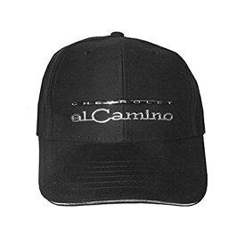 【CHEVROLET】 シボレー エルカミーノ メタルロゴキャップ メンズ フリーサイズ【帽子 ベースボールキャップ BASEBALL CAP ブラック】