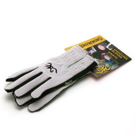 【BROWNING】 ブローニング シューティンググローブ レディース トラッパークリーク 【手袋 アウトドア 女性用 グレー】