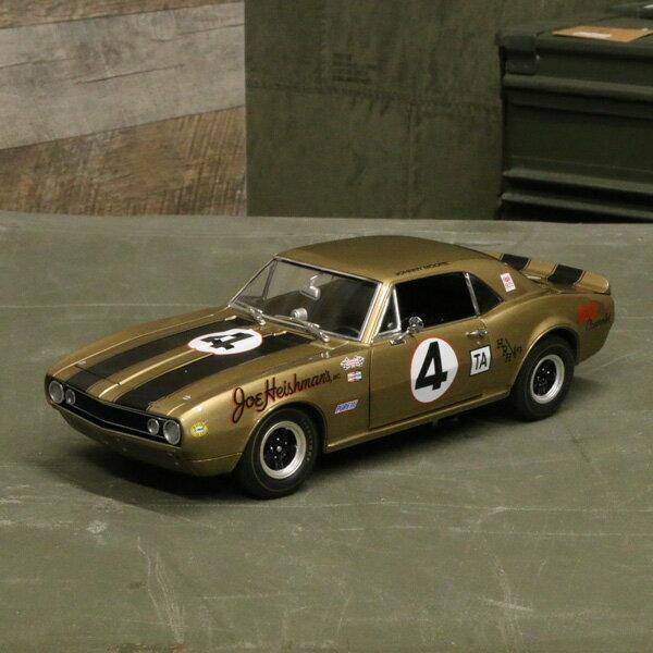 【シボレー】【ミニカー】1967 カマロ Z28 1/18スケール【Chevrolet シェビー camaro ACME アクメ ダイキャスト】