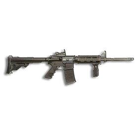 """メタルサイン """"AR-15"""" M16 自動小銃 ブラックライフル メタル ティンサイン 24cm×81cm ■ ミリタリー サバゲー 銃 インテリア ブリキ看板 アメリカ雑貨 壁掛け ショップ ガレージ"""