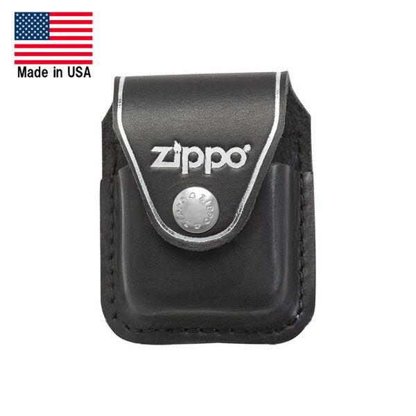 【ジッポー】革製ライターポーチ【ZIPPO オイルライターケース アメリカ製(Made in USA)】