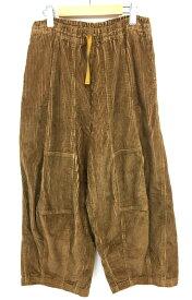 【中古】【メンズ】Needles. H.D.Pant-9W corduroy ニードルズ ヒザデルパンツ-9ウェルコーデュロイ 17AW ボトムス カラー:ブラウン 茶 サイズ:1 万代Net店