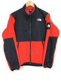 【中古】【メンズ】THE NORTH FACE ザ・ノースフェイス Denali Jacket デナリジャケット フリースジャケット 品番・型番:NA71831 サイズ:L カラー:レッド ブラック 万代Net店