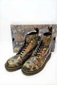 【中古】Dr.Martens ドクターマーチン 8ホール 1460 8EYE BOOTS ブーツ メンズ レディース プレーントゥ サイズ26cm PASCAL