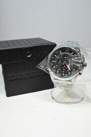 【中古】【未使用品】DIESEL ディーゼル DZ-4308 時計 腕時計 クオーツ 電池式 日常生活強化防水 クロノグラフ シルバー ブラック 万代Net店