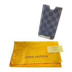 【中古】【メンズ】【レディース】LOUIS VUITTON iPhone Case N62669 ルイヴィトン ダミエグラフィット エテュイ アイフォン3Gケース 小物入れ ハイブランド サイズ:下記参照 カラー:BLACK 万代Net店