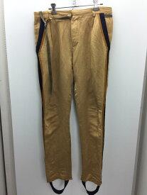 【中古】【メンズ】BED J.W. FORD 16SS Sailor slacks. ベッドフォード セーラースラックス ラインパンツ サイズ:1 カラー:BEIGE