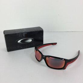 【中古】【メンズ】OAKLEY STRAIGHTLINK 9331-08 オークリー ストレートリンク アクセサリー サングラス 眼鏡 サイズ:61ロ17 132 カラー:POLISHED BLACK TORCH IRIDIUM POLARIZED