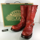 【中古】【メンズ】ZERROW'S MOTORCYCLE BOOTS TYPE 1 2014 ZERROWS ゼローズ エンジ...