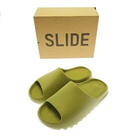 【中古】【メンズ】adidas YEEZY SLIDE GZ5551 アディダス イージー スライド サンダル シューズ 靴 サイズ:28.5cm カラー:RESIN 万代Net店