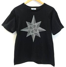 【中古】GDC ジーディーシー S/S ロゴマーク プリント Tee 半袖 Tシャツ ストリート系 ブラック 黒 メンズ サイズ:S 万代Net店