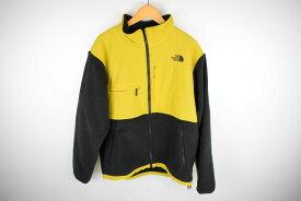 【中古】【メンズ】THE NORTH FACE ノースフェイス Denali Jacket デナリ ジャケット ジャケット サイズ:XXL カラー:YELLOW BLACK 型番:NA71831 万代Net店