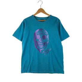 【中古】【メンズ】JELADO BASIC COLLECTION プロレス S/S TEE ジェラード ベーシックコレクション ショートスリーブ Tシャツ マスカラデカラカ サイズ:38 カラー:BLUE 万代Net店