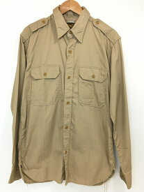 【中古】【メンズ】THE REAL McCOY'S リアルマッコイズ ワークシャツ 長袖シャツ サイズ:16 1 2−33 カラー:ベージュ