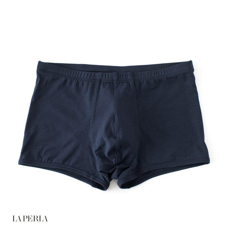 LA PERLA 【ラ ペルラ】 (Italy) D8 LP SKIN ボクサーブリーフ(細ゴム) ・art. P013812 ・col. Dark Blue (ネイビー)