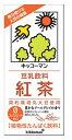 【猫】キッコーマン 紅茶 1000ml紙パック×6本入 4ケース(24本)セット送料無料!