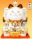 招き猫 置物 開店祝い サロン 七福神 招き猫 開店 祝い 居酒屋 カフェ レストラン 美容室 商売繁盛 プレゼント 招き猫 飲食店 まねきね…