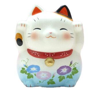 邀请招财猫陈设品猫开店祝贺邀请猫蚊遣器(牵牛花)