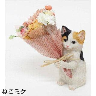 母の日花【キャットクラフトBOXオレンジ】お祝いギフトギフトボックス石鹸シャボンフラワーフラワーソープ猫猫好き猫マニア誕生日贈り物プレゼント女性フラワーアレンジボックス