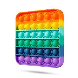 IREENUO スクイーズ玩具 プッシュポップ フィジェットおもちゃ プッシュポップポップ バブル感覚 減圧グッズ ストレス解消 インテリ