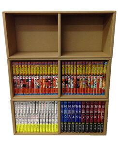 【新品】コミックス収納用ダンボール本棚2個SET [新書/B6版用] 全巻セット