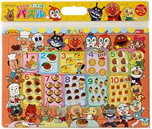 【新品】【知育玩具】【アンパンマン】ケース付きB4パズル/すうじ 26ピース