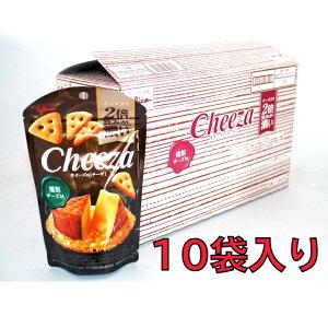 グリコ チーザ 燻製チーズ 10袋入り